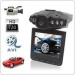 กล้องติดรถยนต์ รุ่น HD หน้าจอ 2.5นิ้ว วีดิโอ 1,280x720 Pixels  Night vision Motion Detection