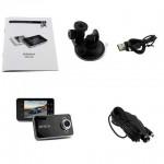 กล้องติดรถยนต์ FULL HD DVR Car Camera พร้อมหน้าจอ TFT LCD ขนาด 2.4 นิ้ว