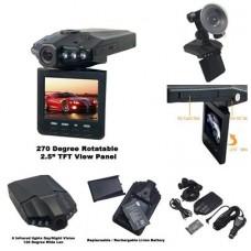 """กล้องติดรถยนต์ HD DVR 2.5"""" รุ่น F198"""