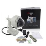 Vstarcam T7833WIP-3X กล้องวงจรปิดผ่านอินเตอร์เน็ต HD Zoom 3 X พร้อมเคสกันน้ำ Outdoor กันน้ำ ทนแดด
